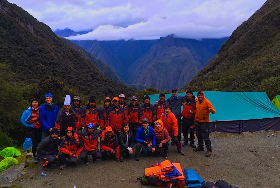 Inca trail booking reservations
