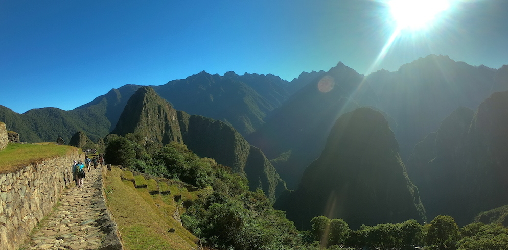 One day tour to Machu Picchu by Inca Trail