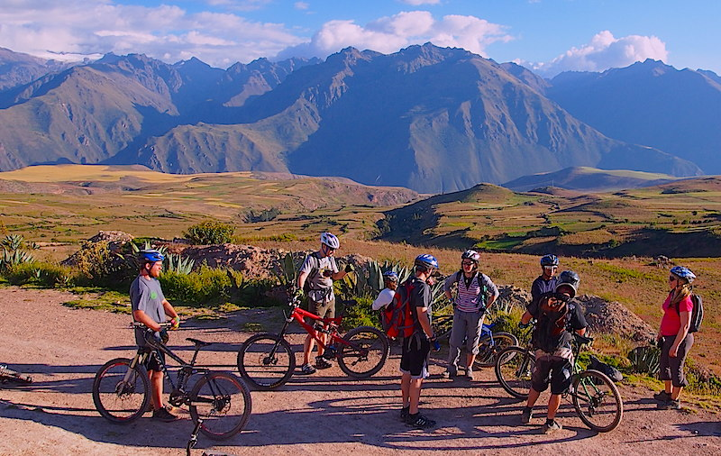 Mountain Biking Maras & Moray