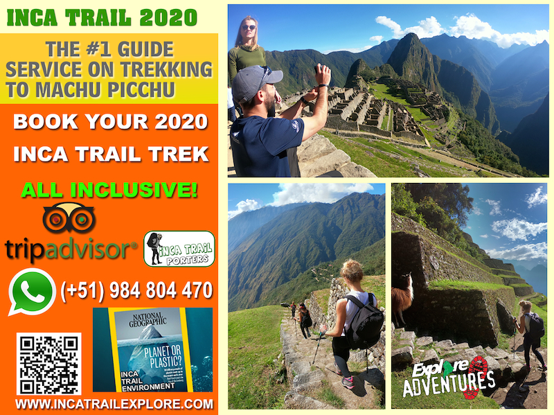 Hiking the Inca Trail 2020 All Inclusive