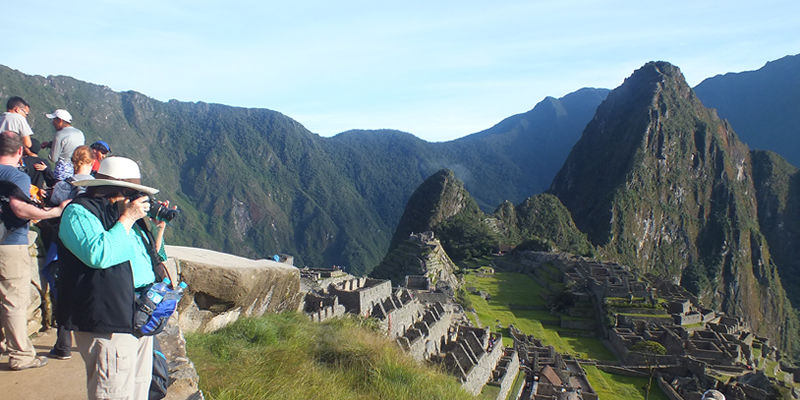 Machu Picchu private tour Mandorpampa