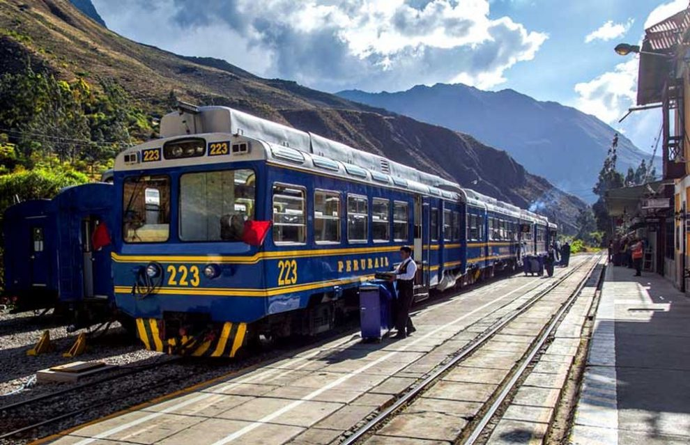 Private Machu picchu sacred valley train