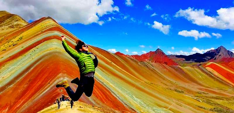 rainbow mountain vinicunca  tours Machu picchu